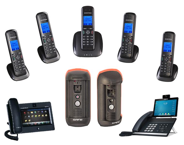 Przemysłowe rozwiązania VOIP z wideodomofonem IP