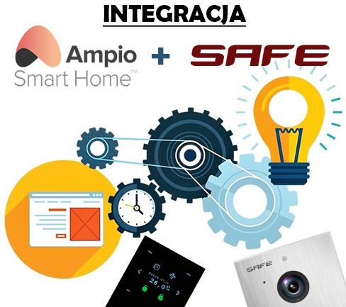 integracja ampio safe wideodomofon